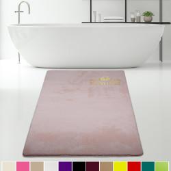 Bonny Home Elite Pudra Kesme Peluş Banyo Paspası Kaymaz Tabanlı Pufidik Banyo Halısı - Ebat Seçenekli