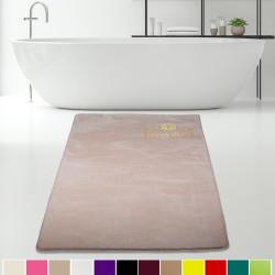 Bonny Home Elite Vizon Kesme Peluş Banyo Paspası Kaymaz Tabanlı Pufidik Banyo Halısı - Ebat Seçenekli