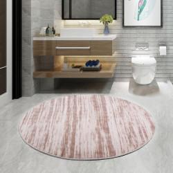 Bonny Home Level Vizon Yuvarlak 100x100 cm Banyo Paspası Halısı