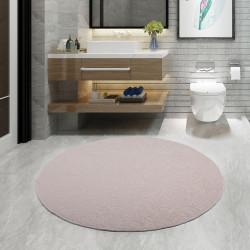 Bonny Home Goldelit Vizon Yuvarlak 100x100 cm Banyo Paspası Halısı